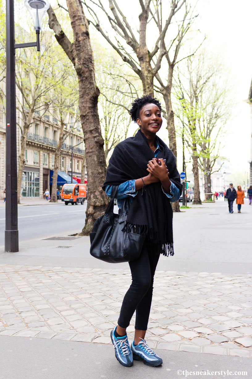 Street Style…Beautiful smile, Paris